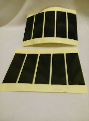 NUMBER PLATE STICKY PADS PACK OF 3 15X50X1MM