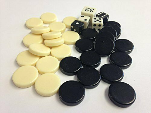 Sondergut - Backgammon - Replacement Dice and Chips