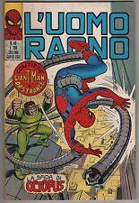 L' UOMO RAGNO corno N.48 LA SFIDA DI OCTOPUS giant-man dr. dottor strange 1972