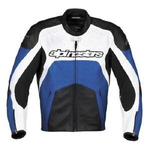 Giubbotto-Giacca-Moto-pelle-Tecnico-con-protezioni-ALPINESTARS-GP-PLUS-54-56