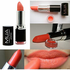MUA MAKEUP Academy Lipstick SHADE 16 NECTAR PEACH ORANGE EVER HIP