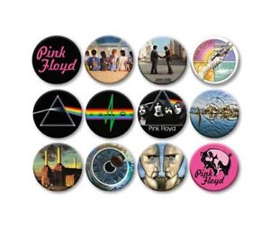 """Licensed 1.25/"""" Pinback Button Pink Floyd Pulse 1¼/"""" Pins Approx. 32mm"""