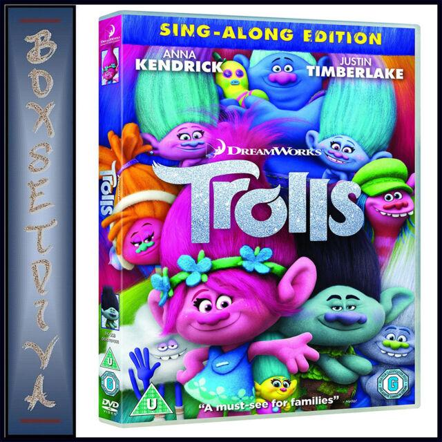 TROLLS - SING A LONG EDITION  *** BRAND NEW DVD***