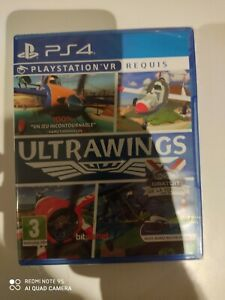ultrawings psvr vr requis ps4 ps4 playstation 4 neuf