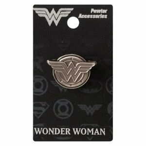 Wonder-Woman-New-Logo-Lapel-Pin-Pewter-Accessory-Charm-Pin-Back-Licensed