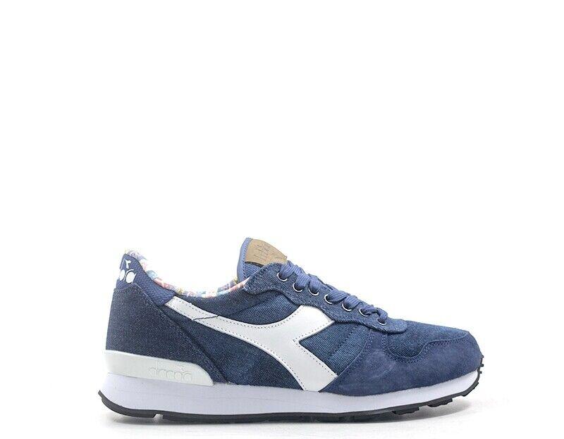 Zapatos Diadora 2.0 hombre de naturaleza azul cuero, tela 171995-60048
