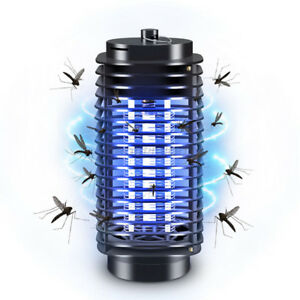 Computer & Office Electric Mosquito Killer Pest Kill Lamp Led Flying Bug Traps Light Outdoor Home Computer Peripherals