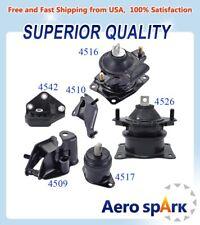 Engine Motor Amp Transmission Mount Set 6pcs For 2003 2007 Honda Accord 24l Auto