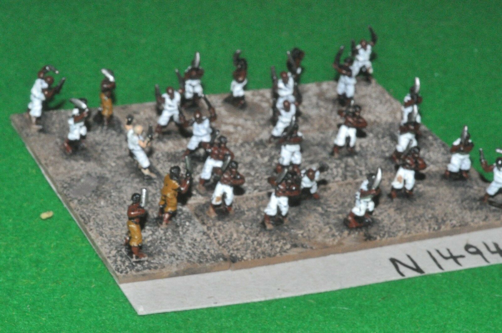 15mm napoleonic   haitian - 27 rebels - inf (91494)