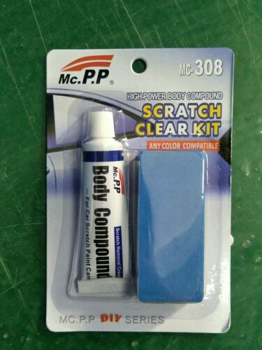 Buy 1 Get Grinding Sponge Professional Car Scratch Repair Agent