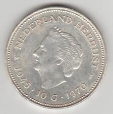 HOLLANDE NETHERLAND 10 GULDEN 1945-1970 ARGENT SILVER