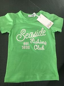 Baby-Boy-Size-0-Green-David-Jones-T-shirt