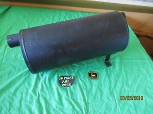 2640 SN 341000/> W// Horizontal Exhaust John Deere Parts MUFFLER  AR92359 2440