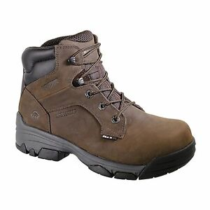 0af7e53615a Details about Wolverine Merlin Puncture Resistant Waterproof Composite Toe  Work Boots W10257