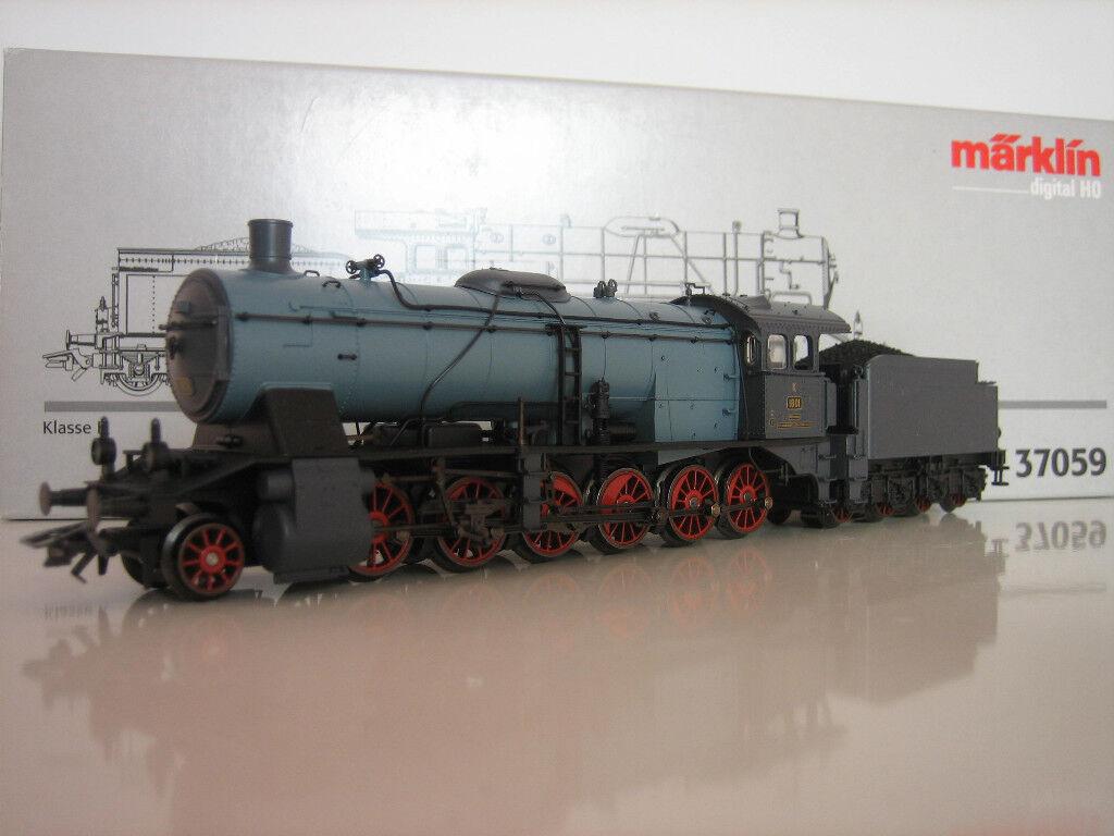 MÄRKLIN H0 37059 Steam Locomotive Digital NEW