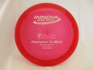 100% Vrai Innova Champion Teebird Rouge Blanc Avec Tampon 175 G-neuf-afficher Le Titre D'origine