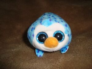 27b6fa7d948 TY 2016 Teeny Tys Blue Penguin GUS Stackable Plush   Beans 4