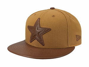 New Era 59Fifty NFL Cap Dallas Cowboys Tonal Trick Fitted Hat - Tan/Brown