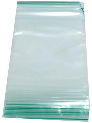 Clear Poly Plastique Plain Grip Seal Sac réutilisable zip lock bags