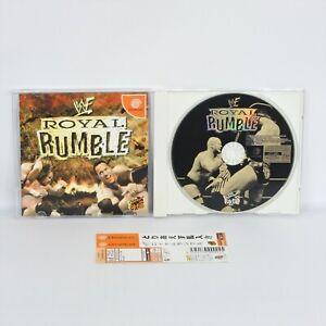 Dreamcast ROYAL RUMBLE Spine * Sega dc