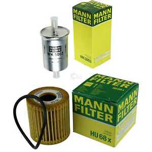 Mann-Filter-pacchetto-OLIO-CARBURANTE-SMART-FORTWO-Cabrio-451-0-8-CDI-COUPE
