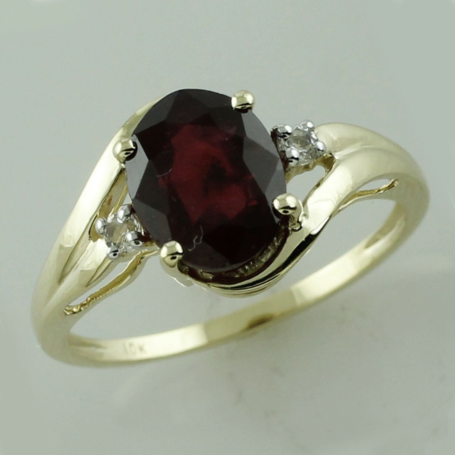Thailand Natural Ruby 2.03 Ct. With Diamond Genuine Ring Solid gold Lady Jewelry