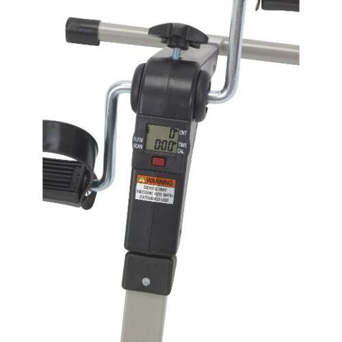 Exercise Bike Stand Peddler Equipment Leg Medical Electronic Display Folding New