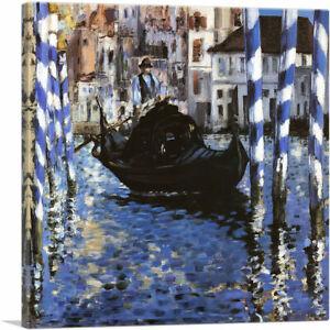 ARTCANVAS The Grand Canal Of Venice 1875 Canvas Art Print by Edouard Manet