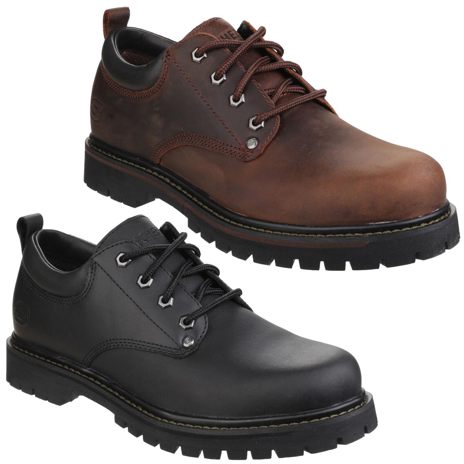 Skechers TOM lacci Gatti Uomo Casual Oxford lacci TOM Lavoro Scarpe Stivali UK6-12 da8097