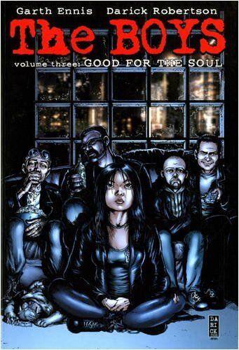 BOYS Volume 3 GOOD FOR THE SOUL Garth Ennis Darick Robertson Tpb Graphic Novel
