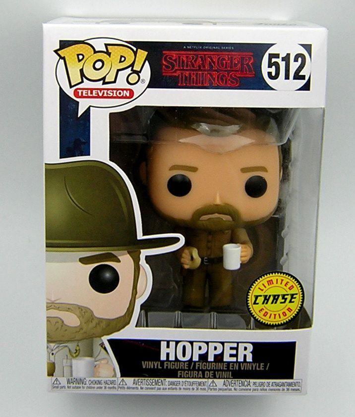Stranger Things Pop Vinyl 521 Hopper ( Chase )
