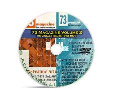 73 Magazine Volume 2, 1972-1979, 96 Ham Amateur Crystal Radio Magazine DVD B97