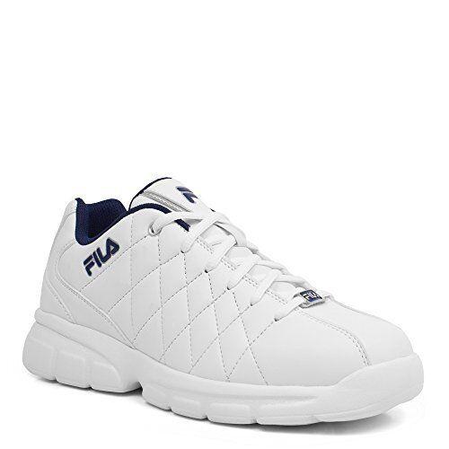 FILA Mens Fulcrum 3 Athletic Shoe White