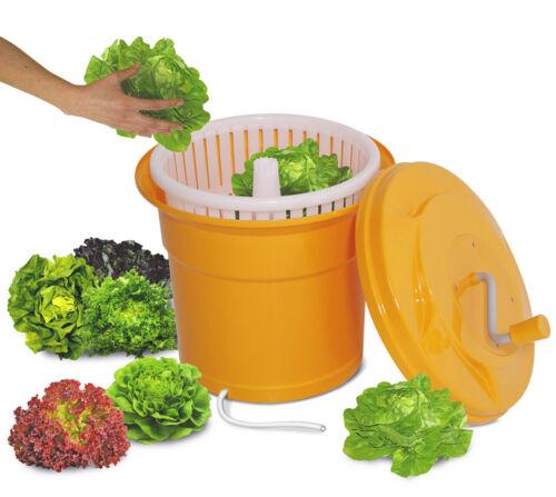 Inhalt 25 Liter Gastro Salatschleuder orange HxØ 520 x 430 mm