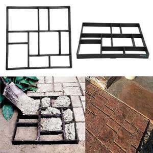 DIY-Pflasterform-Betonform-Schalungsform-Gehweg-Form-Trittstein-60X50X5cm-DIS-DE