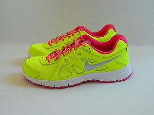Nike Wmns Revolution 2 Volt Green Women's Trainers Shoes UK- 5_5.5