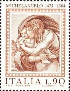 ITALIA-ITALY-1975-Michelangelo-Diluvio-universale-Art-Painting-MNH-Stamp