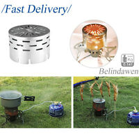 Mini Tent Heater Warmer Stove Heating Cover Cooking Camping Mountaineering