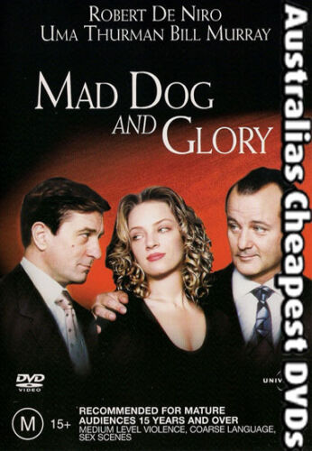 1 of 1 - Mad Dog And Glory DVD NEW,  FREE POSTAGE  WITHIN AUSTRALIA REGION 2, 4