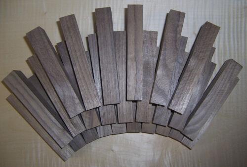 Penblanks Nussbaum,Edelholz,Bastelholz,Holz,Schmuckholz Drechselholz,25 st