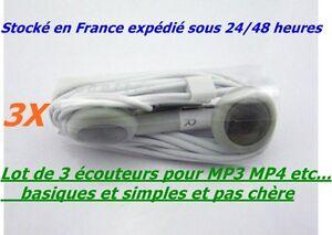LOT-DE-3-CASQUES-ECOUTEURS-BASIQUE-POUR-MP3-MP4-RADIO-TV-BALADEURS-PORTABLES-ETC