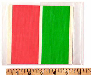 Aurora AFX Slot Car Track LANE MARKING STICKERS Green Red Makes Marshaling Easy!
