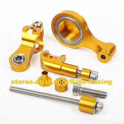 For Yamaha R1//R6//FZ1//MT07//MT09 Steering Damper Stabilizer Bracket Mount Kit