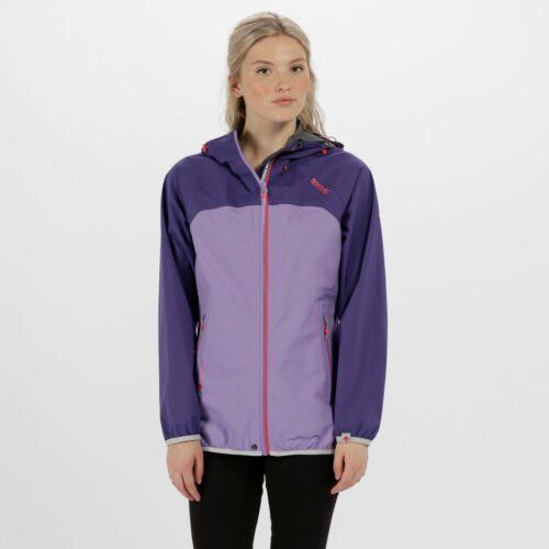 Regatta Women/'s Imber II Lightweight Waterproof Jacket Purple