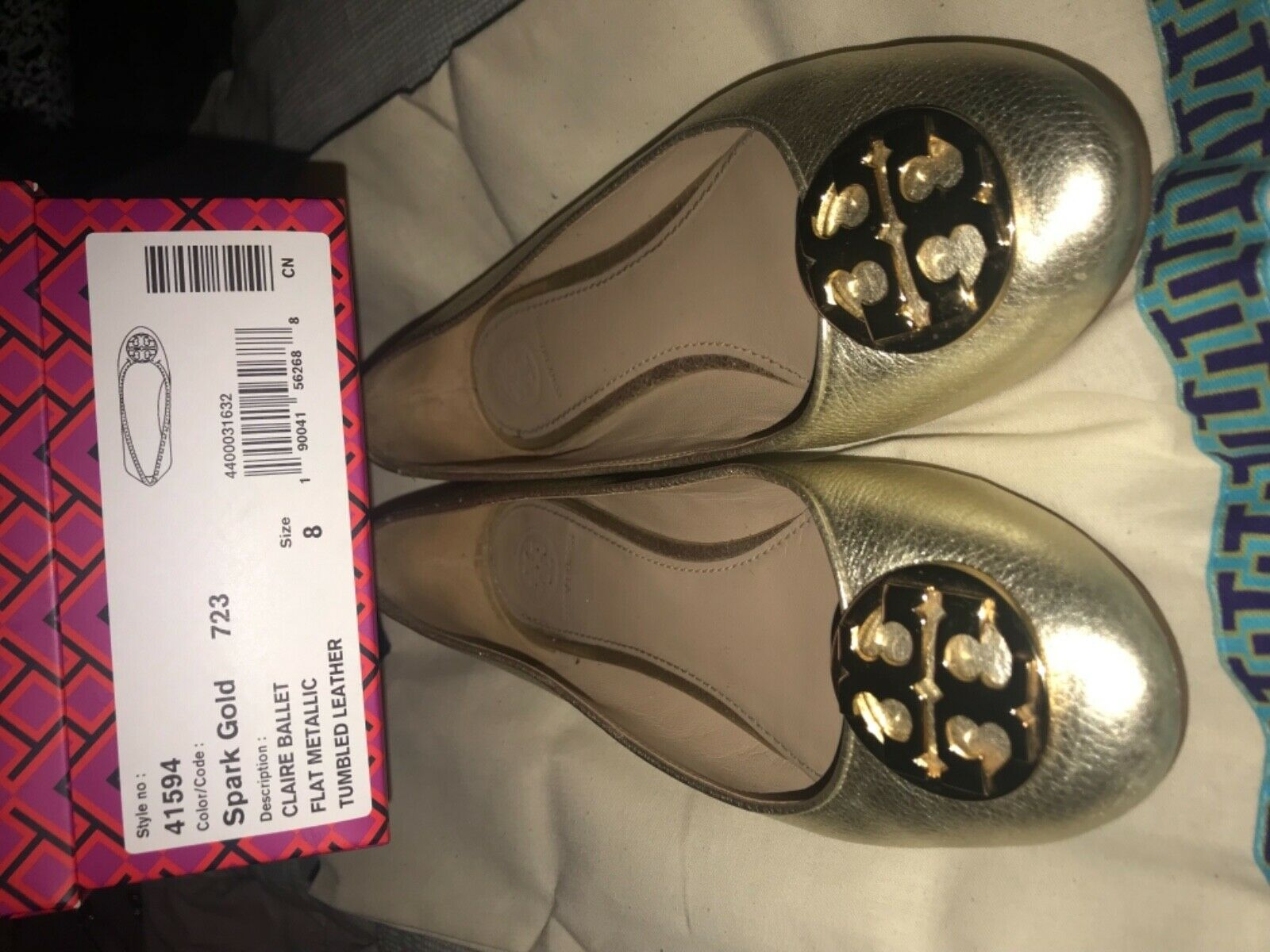 Tory Burch Claire Ballerina Flat - image 5