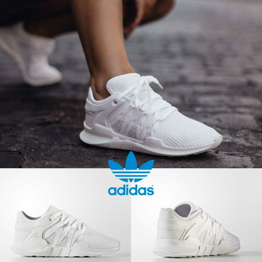 Adidas Original EQT Racing ADV  White White Grey BY9796 SZ 4-11