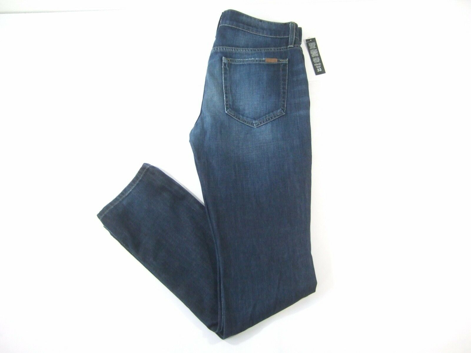 JOES JEANS MACER DISTRESSED DARK blueE 33 STRAIGHT NARROW FIT JEANS MENS NWT NEW