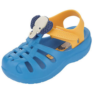 Ipanema-Summer-Baby-Kleinkinder-Badesandale-blau-gelb-blue-yellow