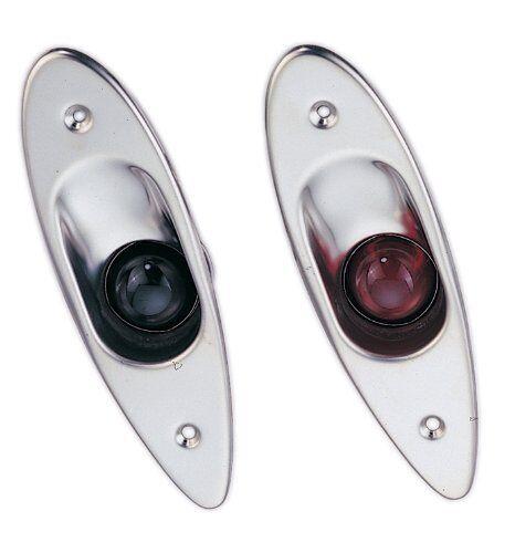 Stiefel Marine Hai Auge Positionslicht Positionslicht Positionslicht Set Rot & Grün SEL-1-DP 76488e