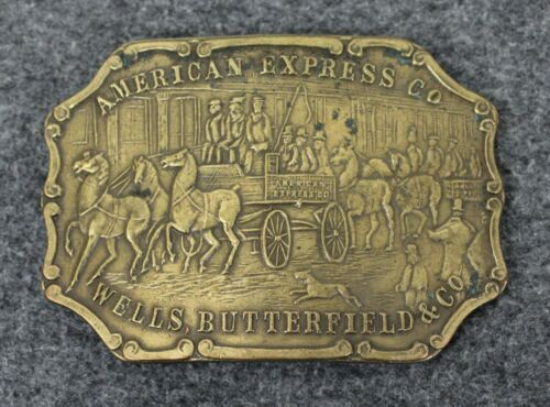 Vintage American Express Wells Butterfield & Co. B